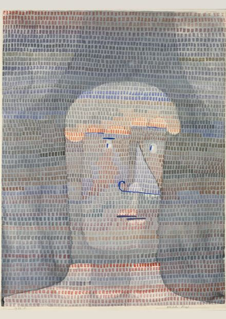Klee, Paul: Athlete's Head. Fine Art Print/Poster (4990)